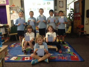 Each year, first graders learn how to write limericks and their writing is entered in the Creative Communications poetry contest. Eight of our 2013-2014 first grade students were selected to have their poems entered into the annual anthology. This is the highest number of poems that MCS has ever had selected.